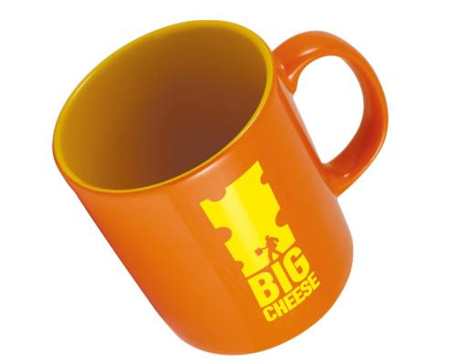 12501DUR Pantone Matched Durham Glazed ColourCoat Mug