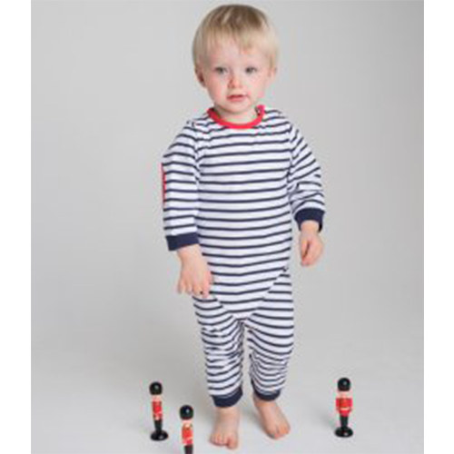 79b52a9017 Larkwood Baby Long Sleeve Striped Bodysuit