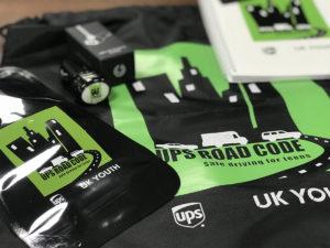 ups road code four