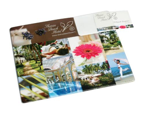 11033 Armadillo Business Card Mat